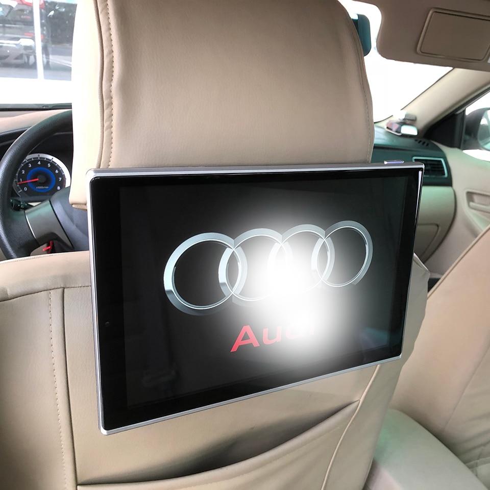 Nuovi Articoli 2018 Elettronica Per Auto Android Poggiatesta Monitor Per La Audi A1 A3 A4 A5 A6 A7 A8 Q3 Q5 Q7 auto Poggiatesta DVD Player 11.8 pollice