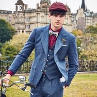 EAROL brand clothing winter England Style solid men casual blazer jacket 42.5%Wool mens stage wear slim fit men blazers designs