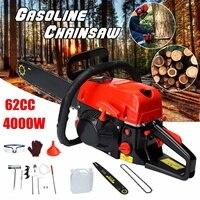 Professional Chainsaw 20 4200W Bar Gas Gasoline Powered Chainsaw 62cc, Engine Cycle Chain Saw