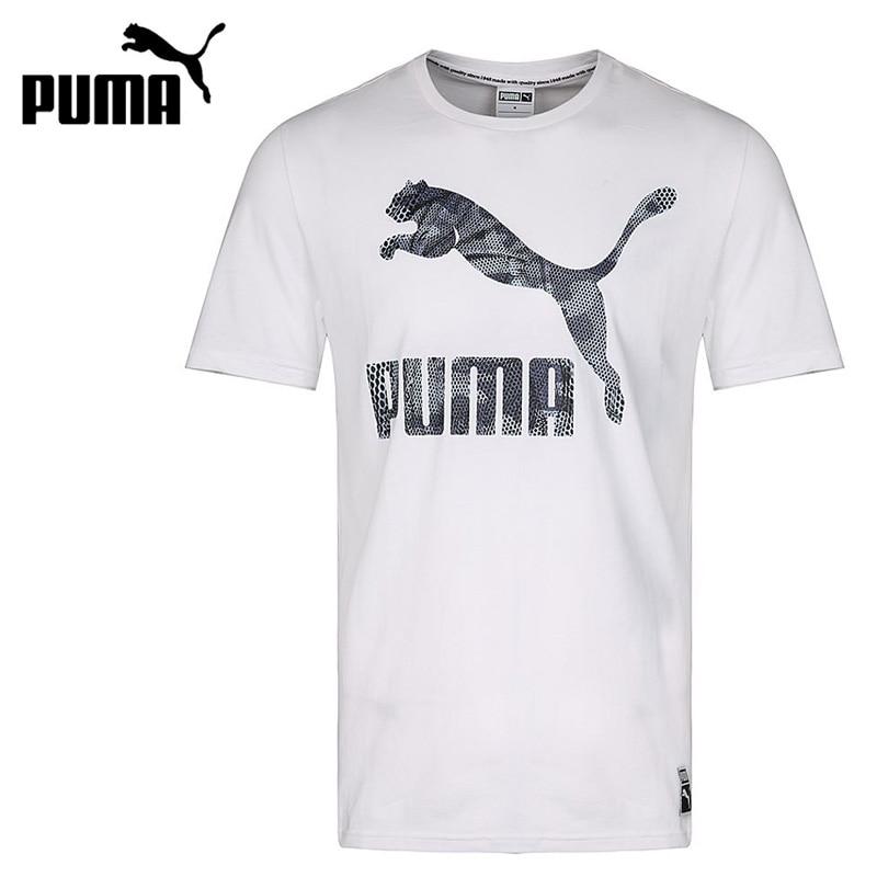 Sport & Unterhaltung Schneidig Original Neue Ankunft 2018 Puma Archiv Logo T Männer T-shirts Kurzarm Sportswear