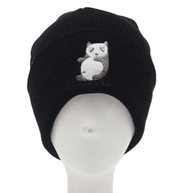 New Arrival Winter Beanies Hats For Women Men Hip Hop Hats Gorros Cartoon Panda Knitted Caps hats men Skullies hats for winter sn su sk snowboard gorros winter ski hats skating caps skullies and beanies for men women hip hop caps knitting bonnet chapeu