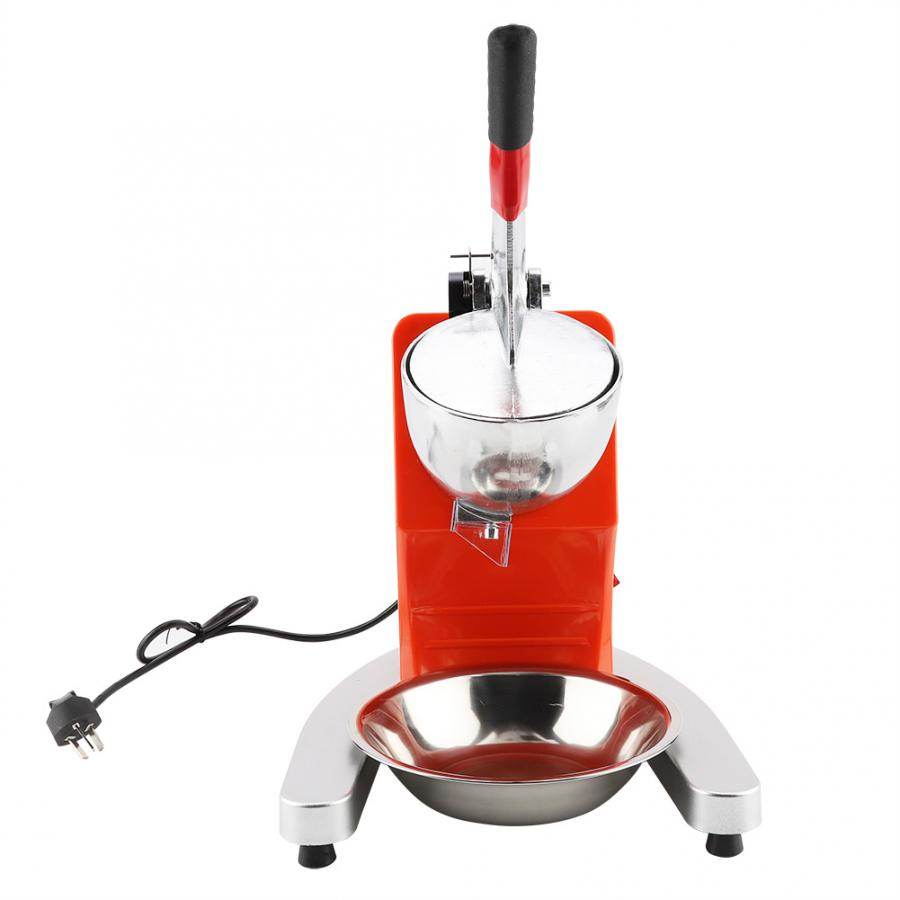Ice Crusher Machine Portable Electric Ice Crusher Household Crank Ice Shaver Snow Cone Maker Kitchen ToolIce Crusher Machine Portable Electric Ice Crusher Household Crank Ice Shaver Snow Cone Maker Kitchen Tool