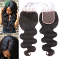 7A Grade Cheap Brazilian Lace Closure Virgin Hair Brazilian Body Wave Closure, Human Hair Closures, Lace Front Closure DHL Free