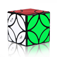 MoFangGe Chinese Coin Cube 3x3x3 Puzzle Speed Magic Cube Educational Toys for Kids Children