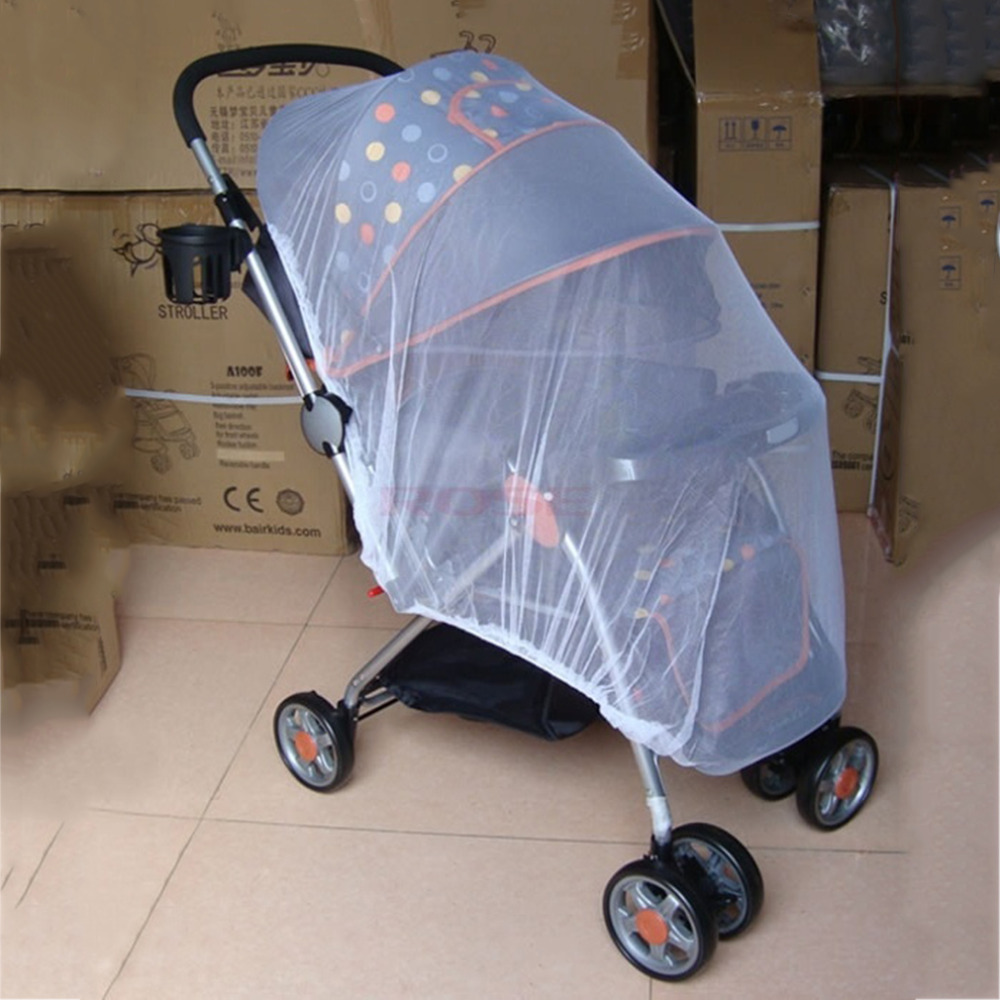 Cocorn Trendy Summer Infants Baby Stroller Mosquito Net Buggy Pram Protector Pushchair Fly Midge Insect Bug Cover Stroller Accessories