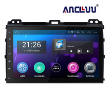 Ancluu 9 inch Android 6.0 Car DVD Player GPS For Toyota Prado 120 Land Cruiser 2004-2008 2009 audio car radio stereo navigator