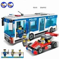 Un Policía de la Ciudad de juguete Un sueño GUDI Serie Bloques de Construcción de La Ciudad de Interceptación de Policía Culpables de Camiones Bloques de Juguetes de Los Niños