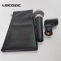 Leicozic Провода MIC le58a динамический микрофон кардиоидный вокальный Провода D 58a Запись MIC Микрофон ФИО microfono караоке микрофоны