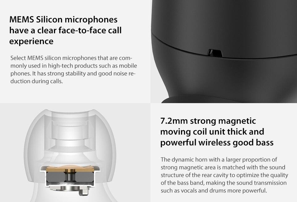 Original Xiaomi Wireless Bluetooth Earphone Mini Headset Bluetooth 4.1 Xiaomi Mi LYEJ05LM Earphone Build-in Mic Handfree (9)