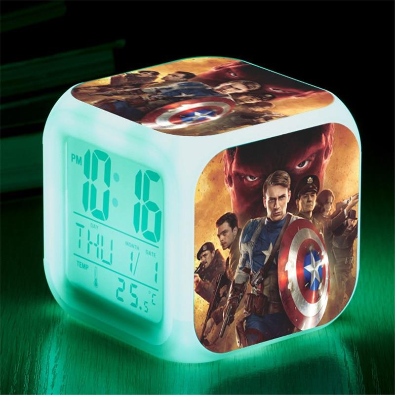 marvel-font-b-avengers-b-font-spiderman-color-change-led-alarm-clock-action-figure-captain-america-iron-man-digital-cube-decor-lighting-toys