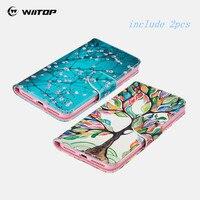 WIITOP Cho Samsung Galaxy S3 S4 S5 S6 S7 S7 S8 Ví Cạnh Csae Da bìa Trường Hợp Đối Với iPhone 5C SE 5 5 S 6 6 S 7 Cộng Với Touch 5 6