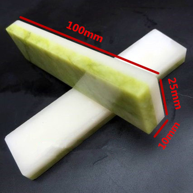 8000/10000 Double Sides Professional Natural Green Agate And Ruby Knife Sharpener Whetstone Sharpening Stones