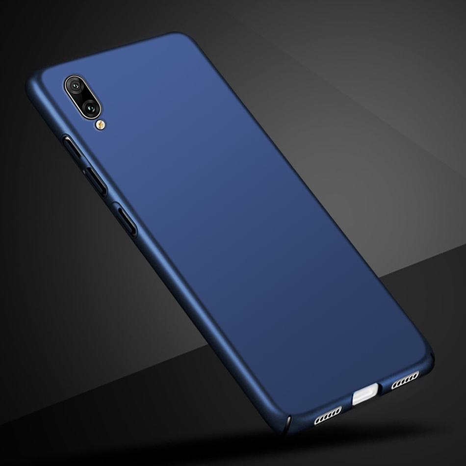 US $1 5 |For Huawei Y6 Pro 2019 Case Hard PC Back Cover Phone Case For  Huawei Y6 2019 Cover Bumper on Huawei Y6 Prime Pro 2019 MRD LX1F-in Fitted