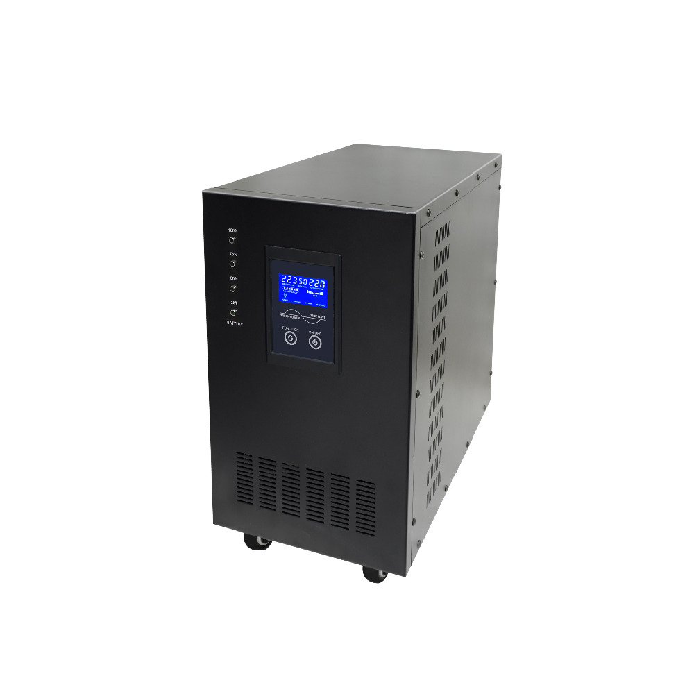 8KVA 8000VA 48V Pure Sine Wave Line Interactive UPS Industrial Power Supply 2kva 2000va 1600w smart lcd display pure sine wave line interactive ups industrial power supply