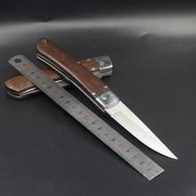Couteau de poche pliant pour survie, couteaux tactiques de lutte, Camping, chasse, couteaux dextérieur, auto défense EDC, outils multiples