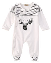 Jumpsuit Playsuit Baby Boys Girls Outfits Clothing Cotton Organic Baby Girl Boy Clothes Long Sleeve Romper