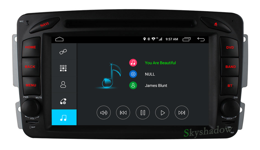 Best C500 4G SIM Android 6.0 8 Core 2GB RAM Car DVD Player RDS Radio GPS Map WIFI Bluetooth For Benz W163 W168 Viano Vito W463 W210 10