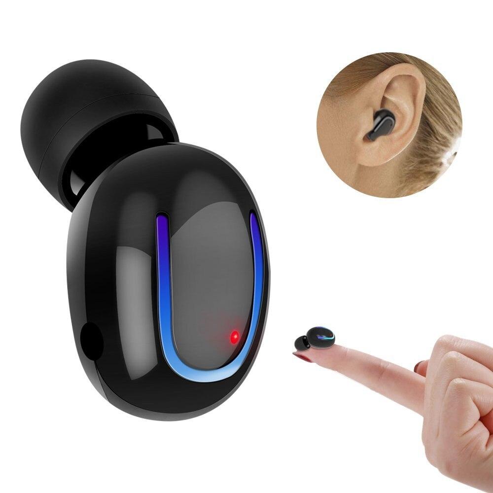 Mini Invisible Bluetooth <font><b>Earphone</b></font> Headphone Micro Wireless Sport headset Earbud Wireless Micro <font><b>Earphone</b></font> Bluetooth with Mic