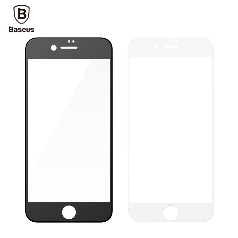 <font><b>Baseus</b></font> 0.23mm <font><b>PET</b></font> <font><b>Soft</b></font> 3D Tempered Glass Film <font><b>Curved</b></font> <font><b>Surface</b></font> Frosted Arc <font><b>Edge</b></font> Full Coverage Screen Protector For iPhone7/7 Plus