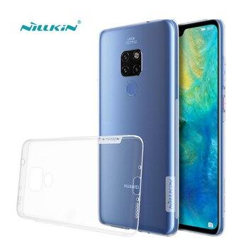 Funda para Huawei Mate 20 Nillkin serie natural transparente suave TPU para Huawei Mate 20 Pro