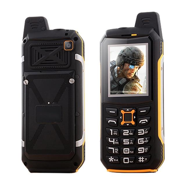 KUH Y809C IP68 waterproof dual sim card flashlight power bank FM radio recorder dustproof shockproof rugged mobile phone P020