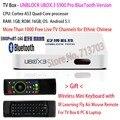 2017 IPTV DESBLOQUEAR UBOX3 Gen.3 S900 Bluetooth Pro/EV-PAD Inteligente Android TV Box Malasia Japón Coreano Chino de HONG KONG Canales de TELEVISIÓN En Vivo