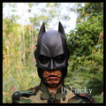 Free shipping Hot Sale Halloween Cosplay CS Batman Mask Adult Masquerade Party Carnival Game Mask For Man Cool Face Costume Toys