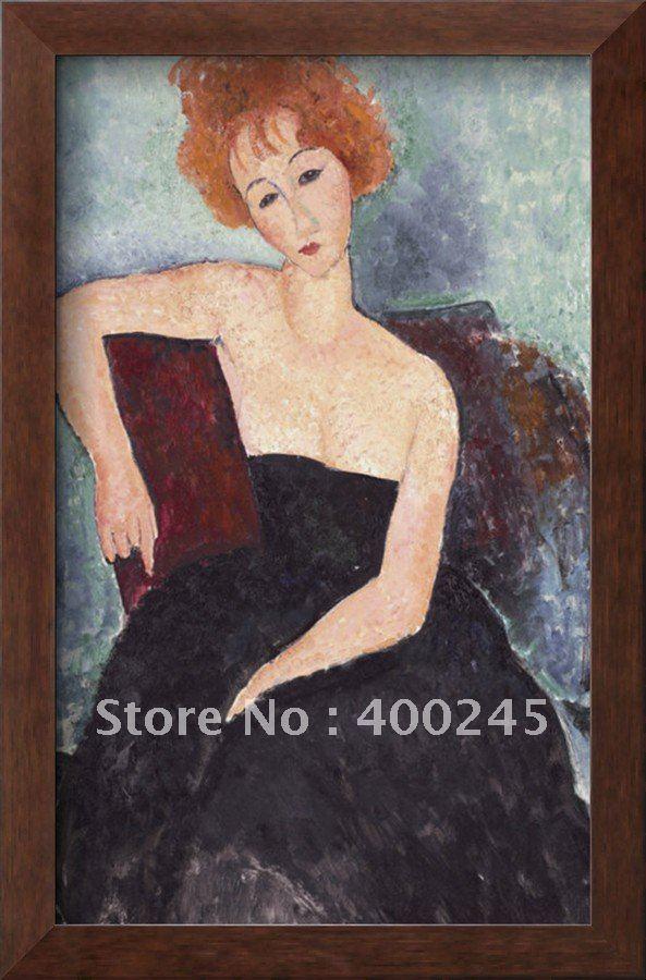 Абстрактная масляная живопись обнажённая женщина картина маслом в красных тонах голова женщины картина маслом высокого качества+ ручной работы