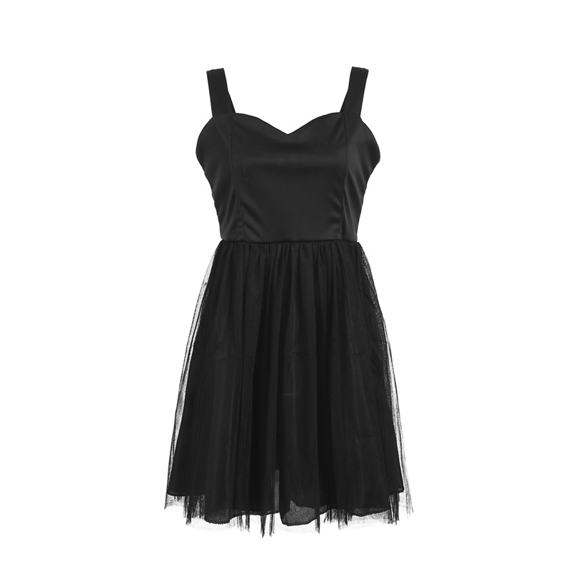 f088bcf055e Moda verano mujeres sin mangas de encaje tutú vestido de malla fiesta baile  vestidos disfraz