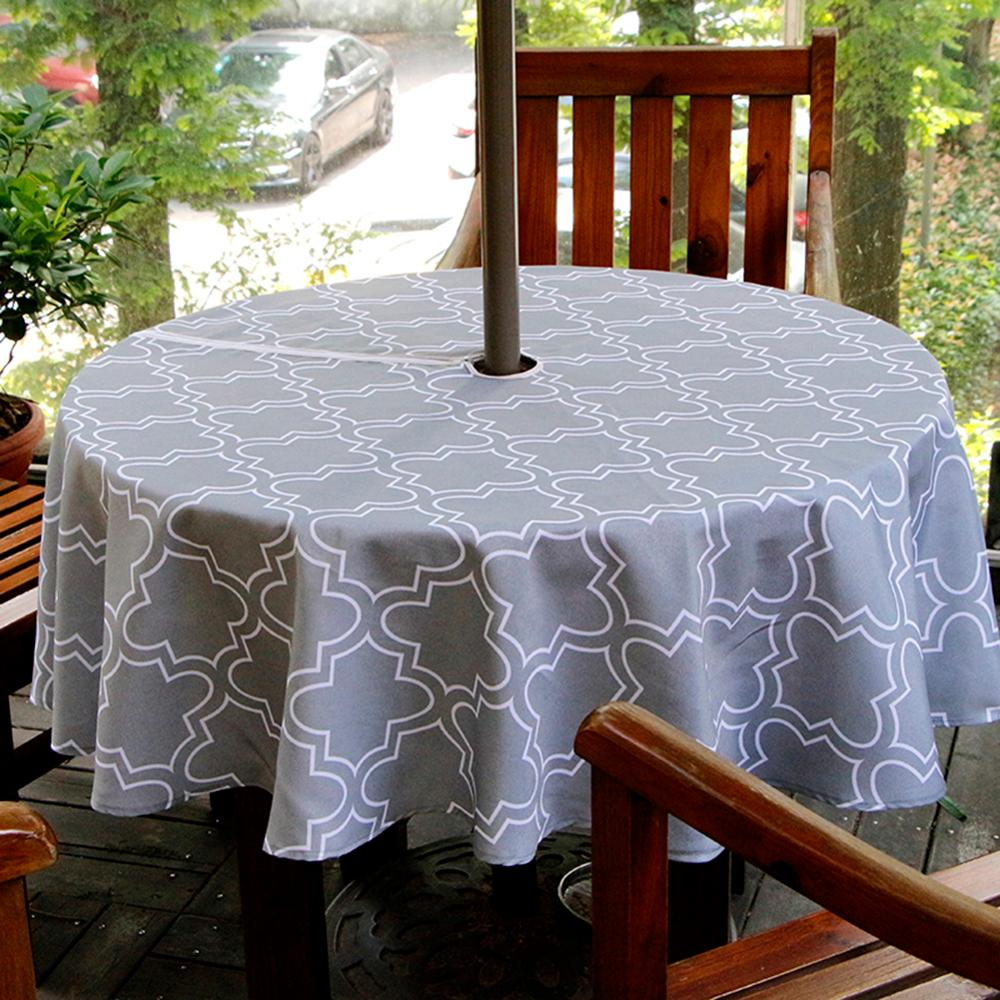 Outdoor Waterproof Garden Dining Table ClothsGarden ALL SIZES Round Rectangle