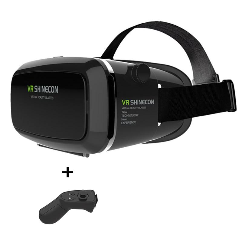 Google Cardboard VR shinecon Pro Version VR Virtual Reality 3D Glasses For 4 6 Phone Smart