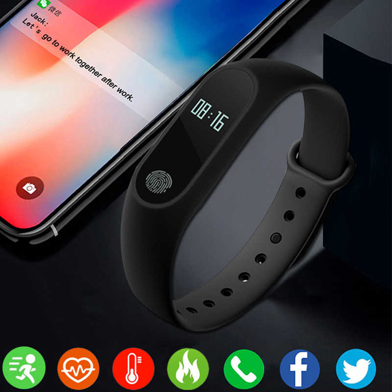 Smartwatch For Android IOS Fitness Tracker Electronics Smart Clock Band Smartband  Sport Bracelet  bluetooth watch