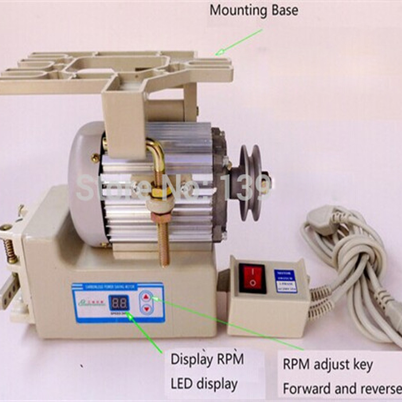 1pc Industrial Sewing Machine Energy Saving Motor, Sewing Machines Servo Motor JM9140-C c type sewing machine style music box brown black