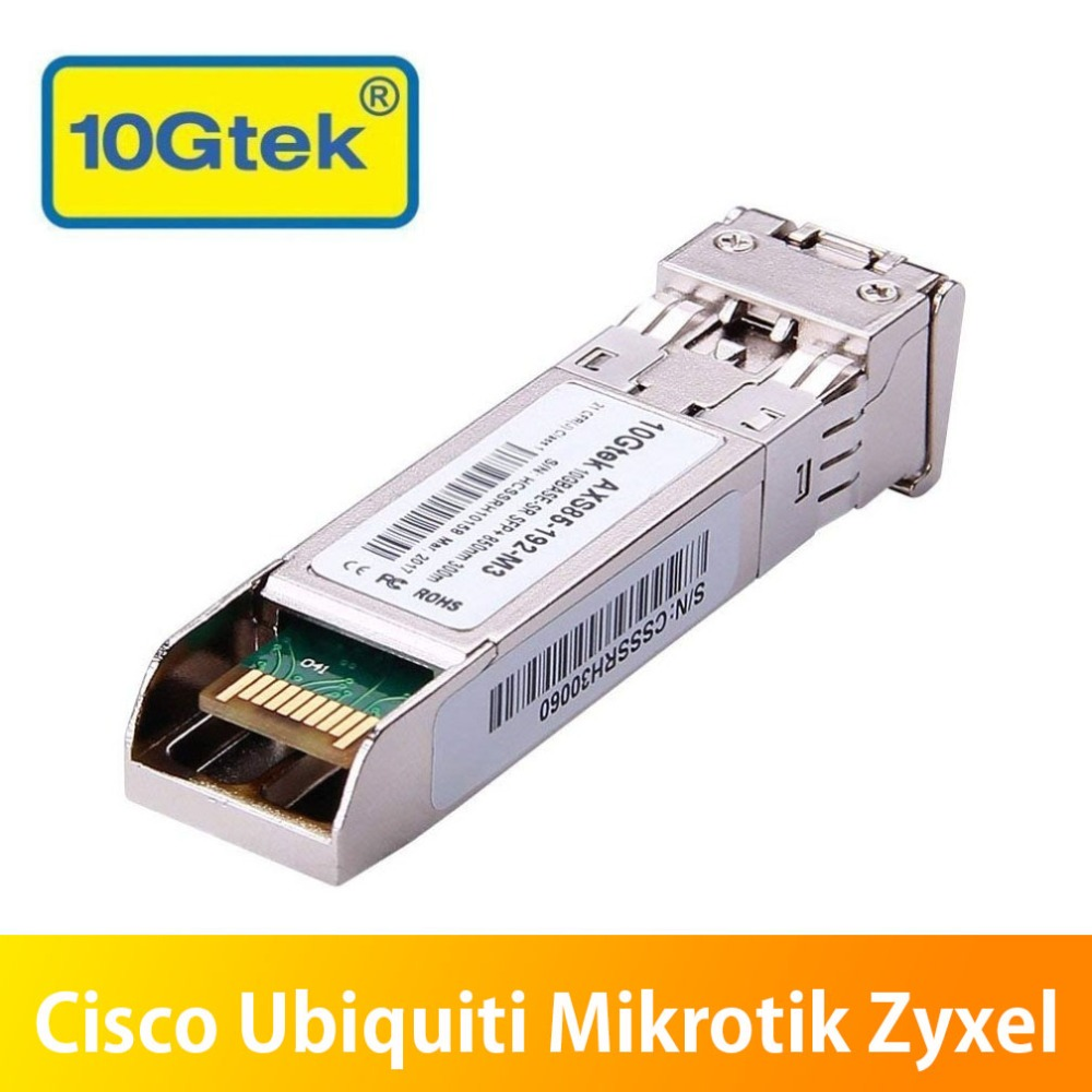 Module Single-mode Fiber Optic Module Hot Sele Communication Equipments 10pcs Hottest Original Hua Wei 10g 1310nm 1.4km Sm Sfp