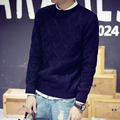 High Quality Casual Sweater Men Pullovers Winter Knitting Long Sleeve O-Neck Slim Knitwear Sweaters M-5XL #8807
