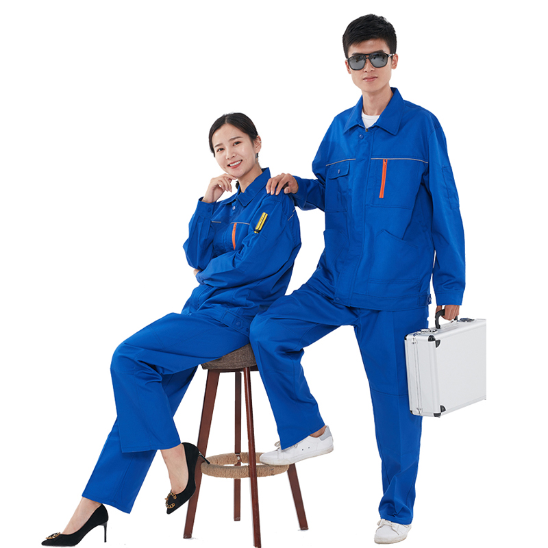 Autumn work clothes men women Coveralls large pocket construction workshop machine repair wear protective Coverall clothing reflective of work clothes long sleeve work wear set male protective clothing work wear