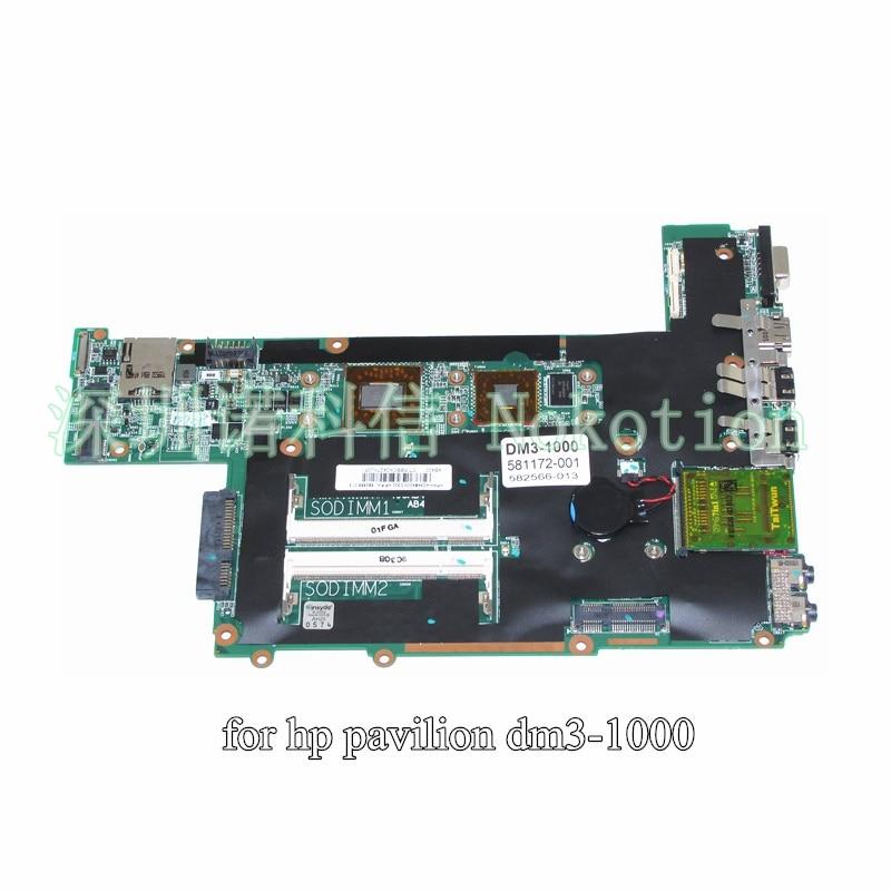 ФОТО 581172-001 582566-013 for HP Pavilion DM3 DM3-1000 laptop motherboard TMZL625 CPU DDR2
