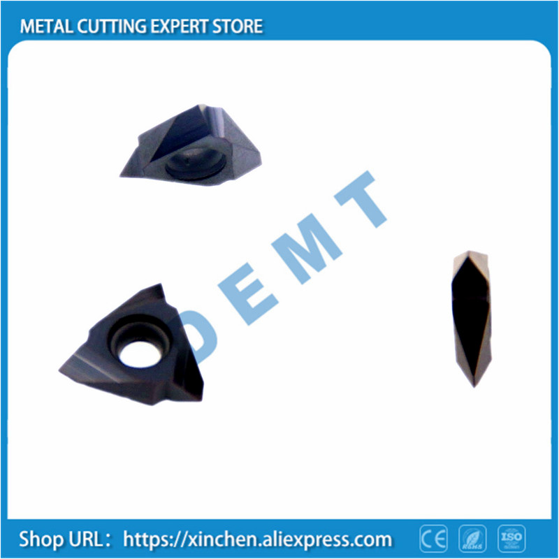 Vertical thread Thread pitch 1 3mm Carbide thread turning tool steel stainless steel processing Machinery Lathe