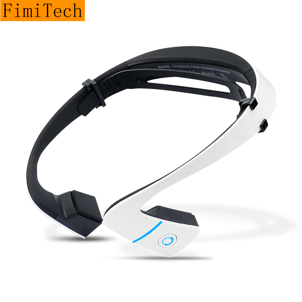 Bone Conduction Bluetooth Earphone Sweatproof Wireless Sport Running Headphone Stereo Headset with Mic Fone De Ouvido KulaklIk bluetooth earphone wireless music headphone car kit handsfree headset phone earbud fone de ouvido with mic remax rb t9