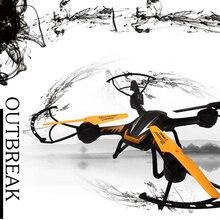 HYT107 Skimmer Quadcopter Drones avec Caméra HD WIFI FPV Dron En Temps Réel Vidéo Rc Helicoptero Télécommande Jouets