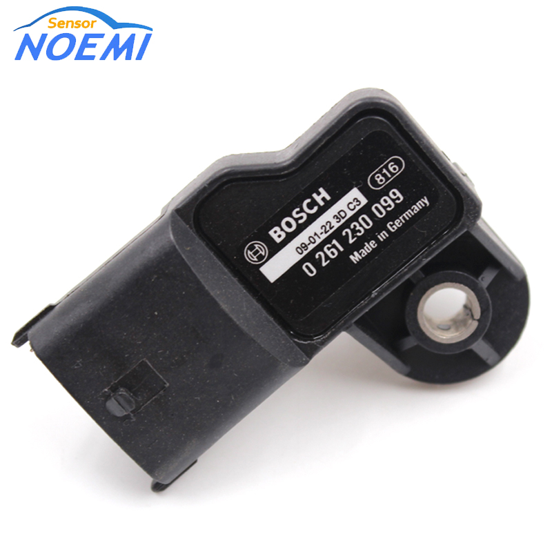 Auto Map Sensor 0261230099 Intake Pressure Sensor For Honda Jazz Civic