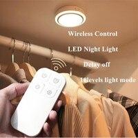 Jiaderui LED Baby Night Lights With Remote Control PIR Motion Sensor Indoor Corridor Kitchen Cabinet Closet