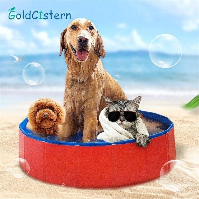 Haustiere Pvc Waschen Teich Hund Badewanne Bett Faltbare Pet Play