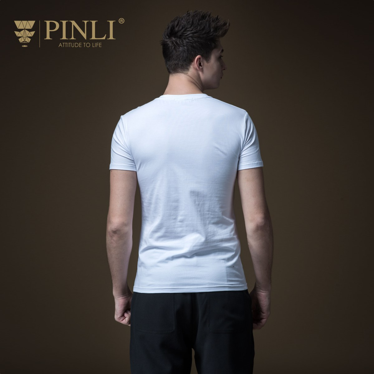 Linkin Park Palace Product Made The New Summer V-neck Splicing Men's Cultivate Morality Short Sleeve T-shirt Coat B192211278 65