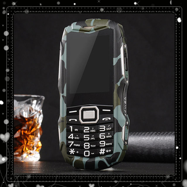 2016 Письма Висели Y809 мобильный телефон На Открытом Воздухе спорт противоударный телефон 3 карты 3 ожидания 2.0 дюймов Y809 Dual SIM 8800 мАч Bluetooth