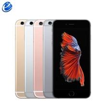 Apple iPhone 6S плюс IOS Dual Core 16 Гб/64/128 ГБ Встроенная память 2 Гб Оперативная память 5,5 ''12.0MP Камера 4 аппарат не привязан к оператору сотовой связи мобильного телефона б/у мобильных телефонов