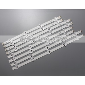 Image 1 - 8pcs x 37 inch Backlight Strips for LG 37LN Array LC370DXE AGF78401301 37LN5400 37LN5404 ZA 6916L 1137A 1138A 1139A 1140A