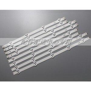 Image 1 - Bandes pour rétroéclairage, 8 pièces x 37 pouces, pour LG 37LN Array LC370DXE AGF78401301 37LN5400 37LN5404 ZA 6916L 1137A 1138A 1139A 1140A