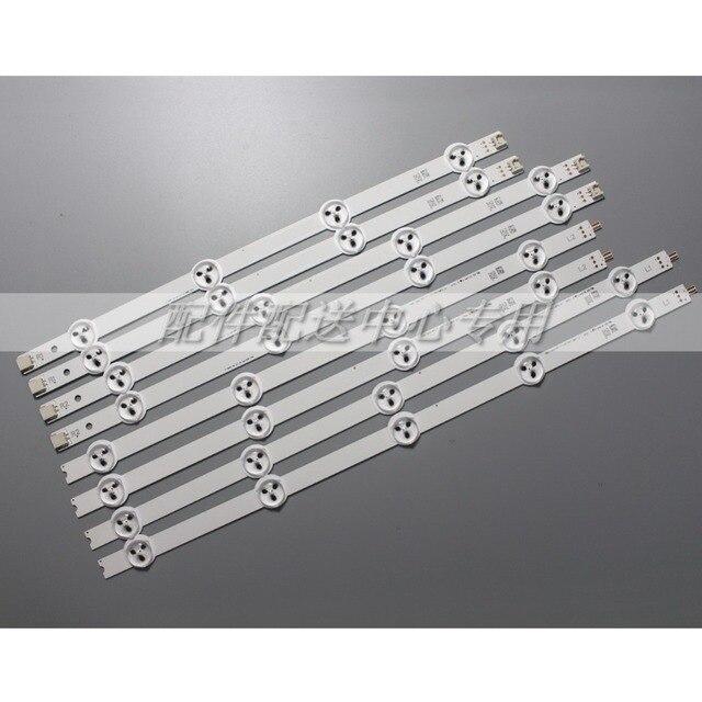 Bandes pour rétroéclairage, 8 pièces x 37 pouces, pour LG 37LN Array LC370DXE AGF78401301 37LN5400 37LN5404 ZA 6916L 1137A 1138A 1139A 1140A