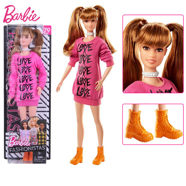 Barbie 100% Original Fashionistas Girls 30